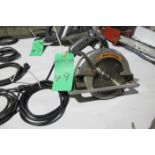 "Black & Decker 7-1/4"" circular saw"