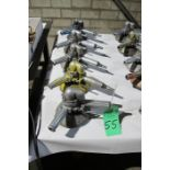 (5) Pneumatic grinders/buffers