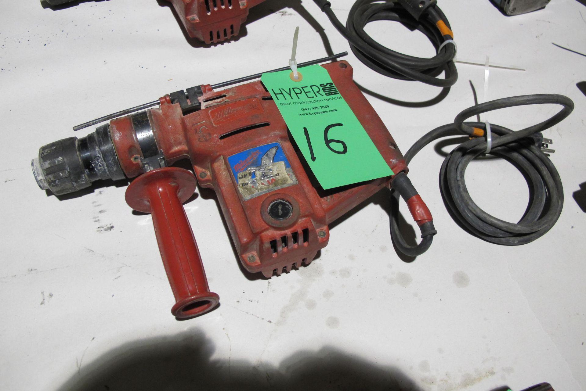 Milwaukee Cat # 5362-1 Heavy Duty hammer drill