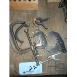 Assorment of clamps
