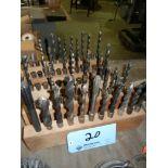 Five racks of #3 Morse Taper tooling