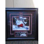 Steve Mason - - Signed Print in frame