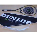 Dunlop BIOMETRIC Squash Raquet (New)