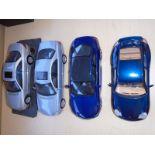 Lot of 4 Replica model cars