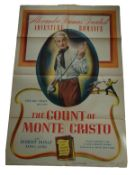 1934 - Count of Monte Cristo (The) - US One Sheet - Vintage Poster from the 1948 re-release