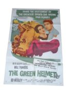 1961 - Green Helmet - US One Sheet - Iconic motor racing film starring Bill Travers, Sid James -