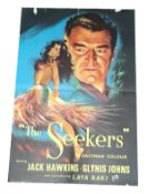 1954 - Seekers (The) - UK Double Crown - Superb art of Jack Hawkins as one of the first British