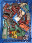 A quantity of playworn diecast by various manufacturers - P-F