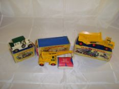 A selection of Matchbox items to include a boxed Y-3 Model of Yesteryear, a boxed K-14 Taylor
