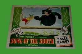1946 - Song of the South - Lobby Card - Braer Rabbit up to his antics and trapping Braer Bear.