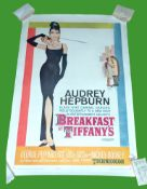 1961 - Breakfast at Tiffany's - US One Sheet - One of the Most Iconic Posters
