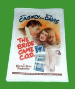 1941 - Bride Came C.O.D. (The) - US One Sheet - James Cagney and Bette Davis are teamed up for