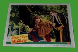 1948 - Abbot & Costello Meet Frankenstein - Lobby Card - One of the most important additions to