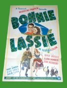 1944 - Bonnie Lassie - US One Sheet - A rare item due to the fact the film was a 19 minute long