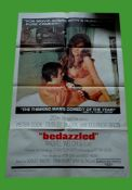 1967 - Bedazzled - US One Sheet -The Spectacular Raquel Welch stars in this comedy about Dudley