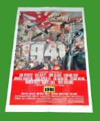 1979 - '1941' US One Sheet, Style D. Art work by David McMacken. While this is recognisably one of