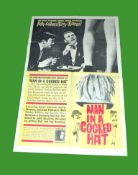 1959 - Man in a Cocked Hat (Carlton Browne of the FO) - US One Sheet. Superb study of Peter