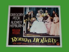 1953 - Roman Holiday - US Lobby Card. Scene card of Audrey Hepburn as the Princess. Condition: