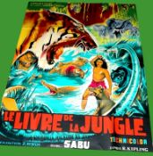 1942 - Jungle Book - French Grande - Sabu starred in the all colour version of Rudyard Kipling's