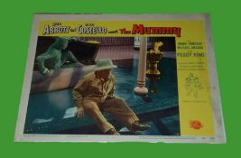 1955 - Abbot & Costello Meet the Mummy - Lobby Card - This lot consists of a Scene card - Lou