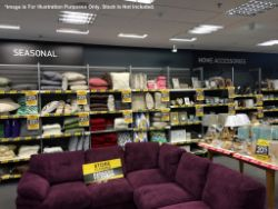 Short Notice No Reserve Disposal Sale - The complete F & F asset register of Cargo Furniture & Homeware - Location: Farnborough GU14