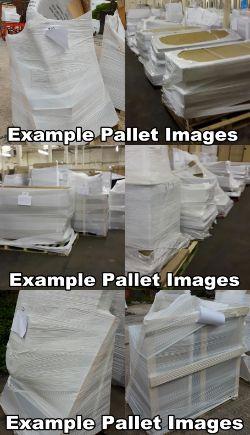 Pallets of Bathroom Stock From Online Retailer, Designer CHELSOM Furniture, General Bathroom Stock, Orwak Compactor, Catering Equipment & More!