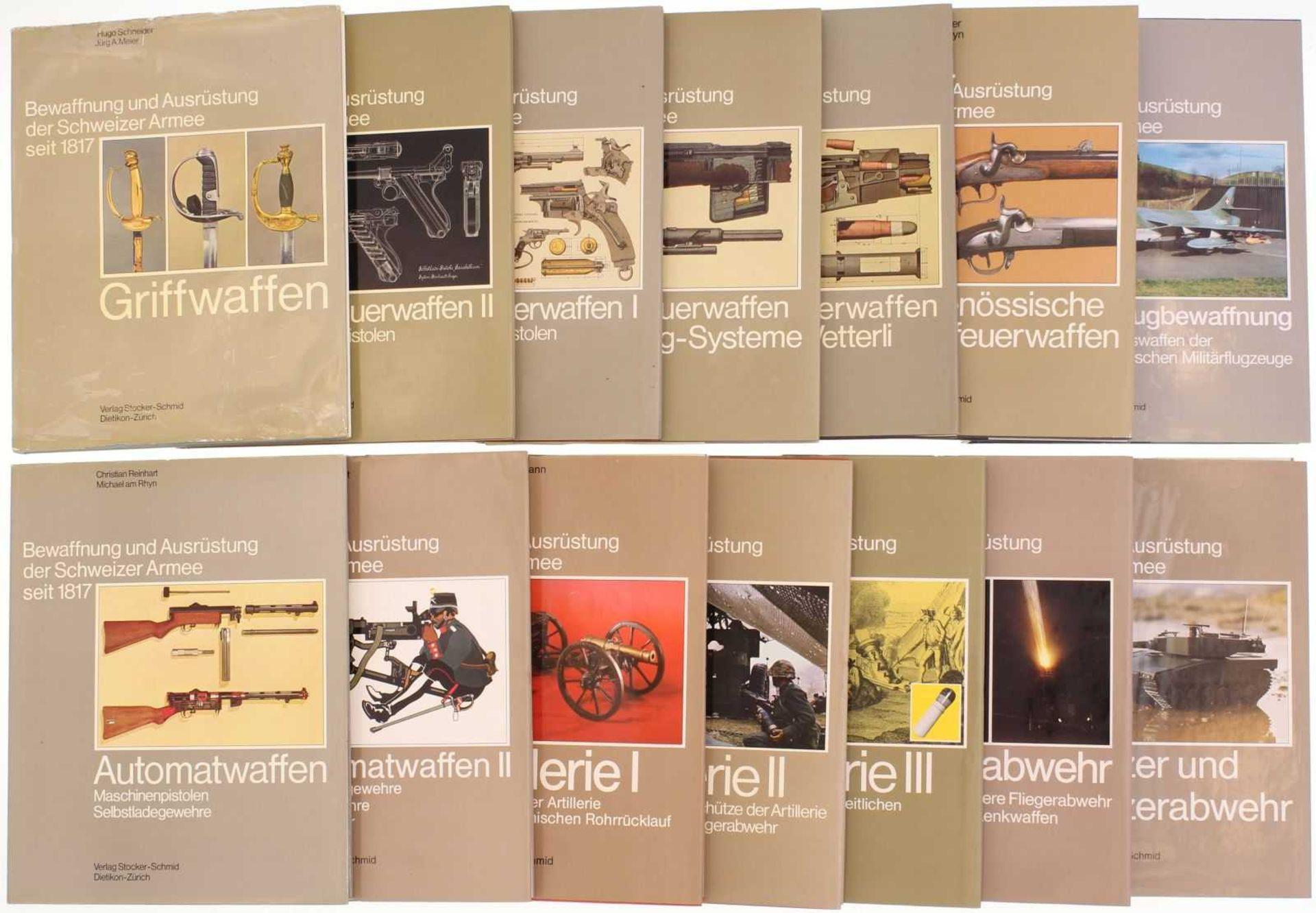 Die Repetiergewehre der Schweiz, Systeme Vetterli und Schmidt-Rubin Zusammenfassung der beiden Bände