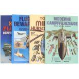"""Konvolut von 4 Büchern@ 1. """"Moderne Militärhubschrauber"""", Technik, Taktik, Bewaffnung. Bill"""