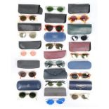 A group of sunglasses, 1940s-60s,