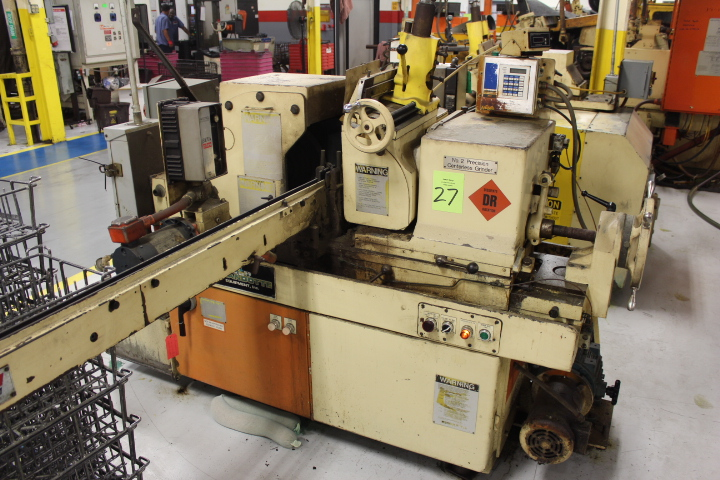 Lot 27 - Cincinnati, Model 2, Centerless Grinder
