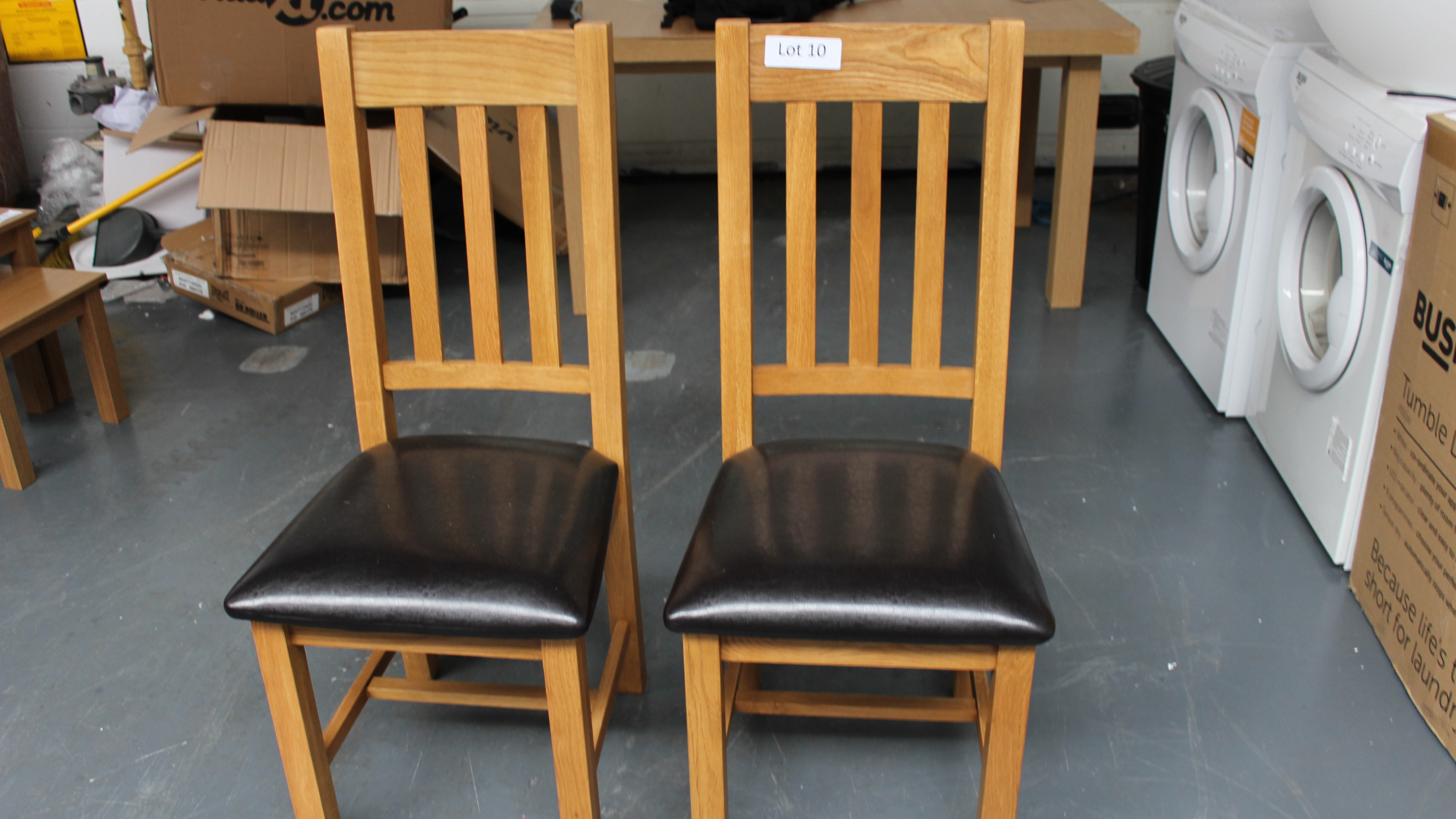 Lot 10 - 2 Julien Bowen Chairs Customer Returns
