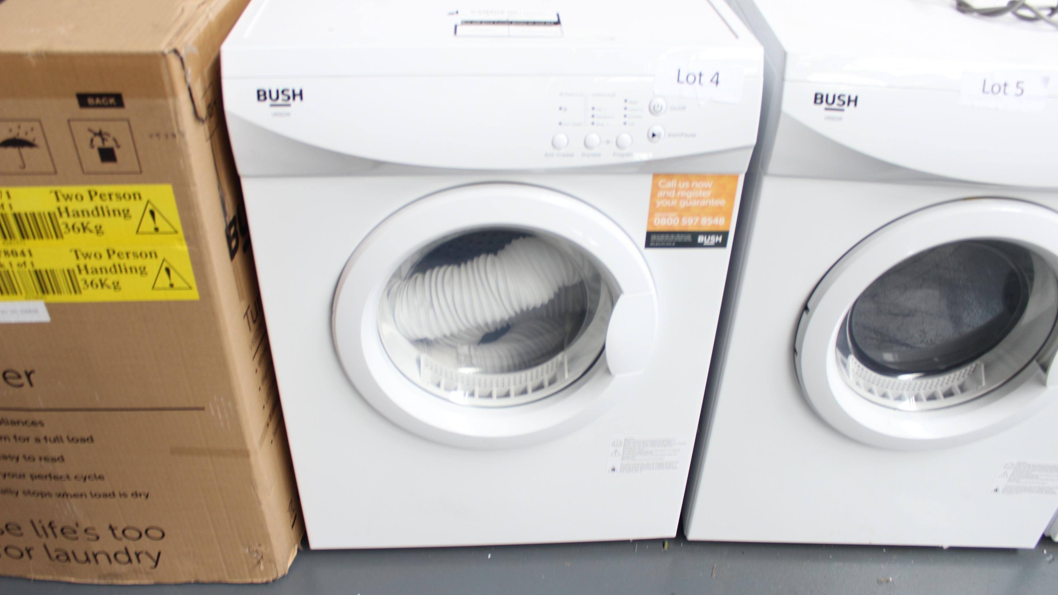 Lot 4 - Bush V6SDW Tumble Dryer Customer Returns