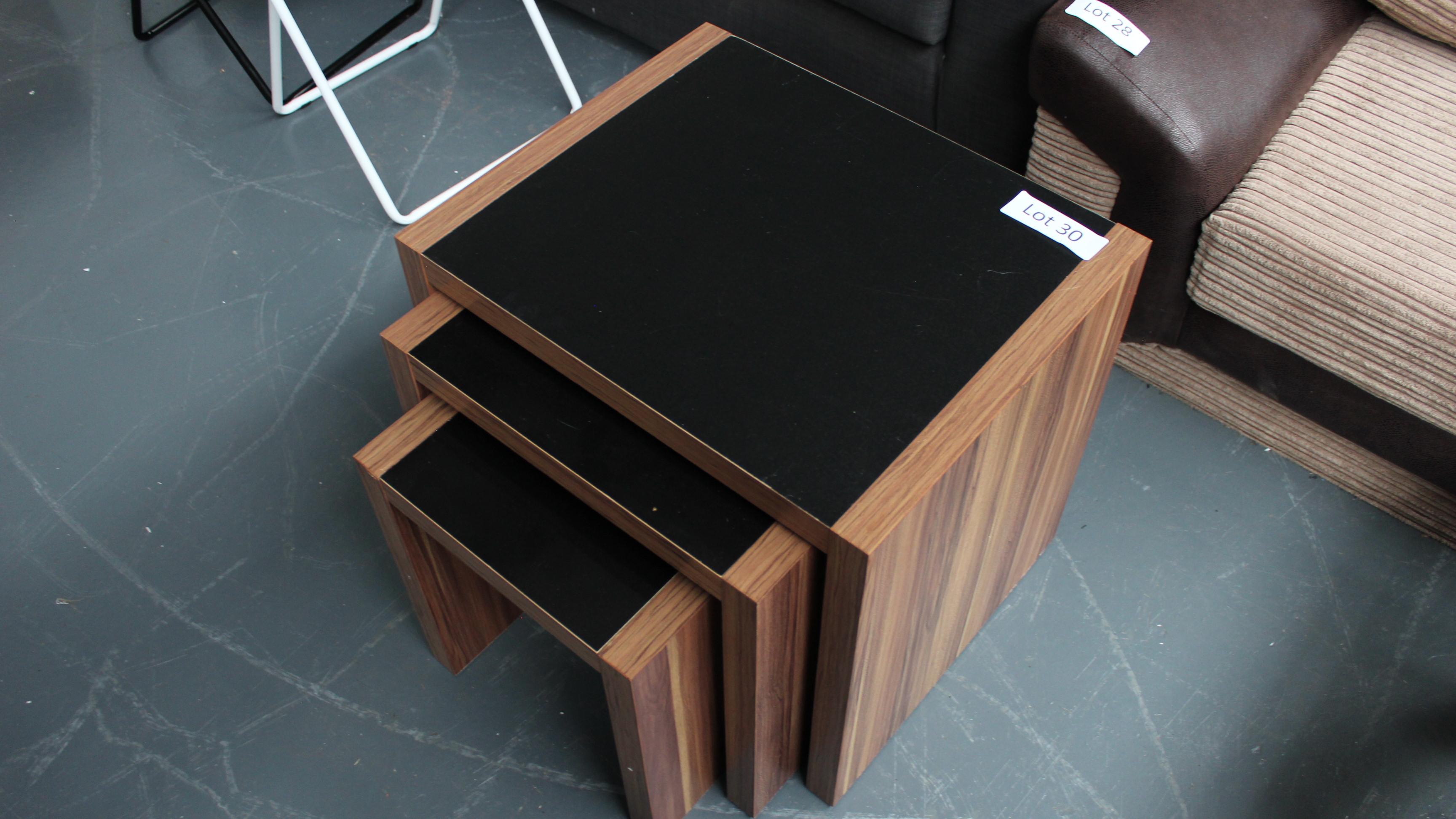 Lot 30 - Nest of 3 Tables. Customer Returns
