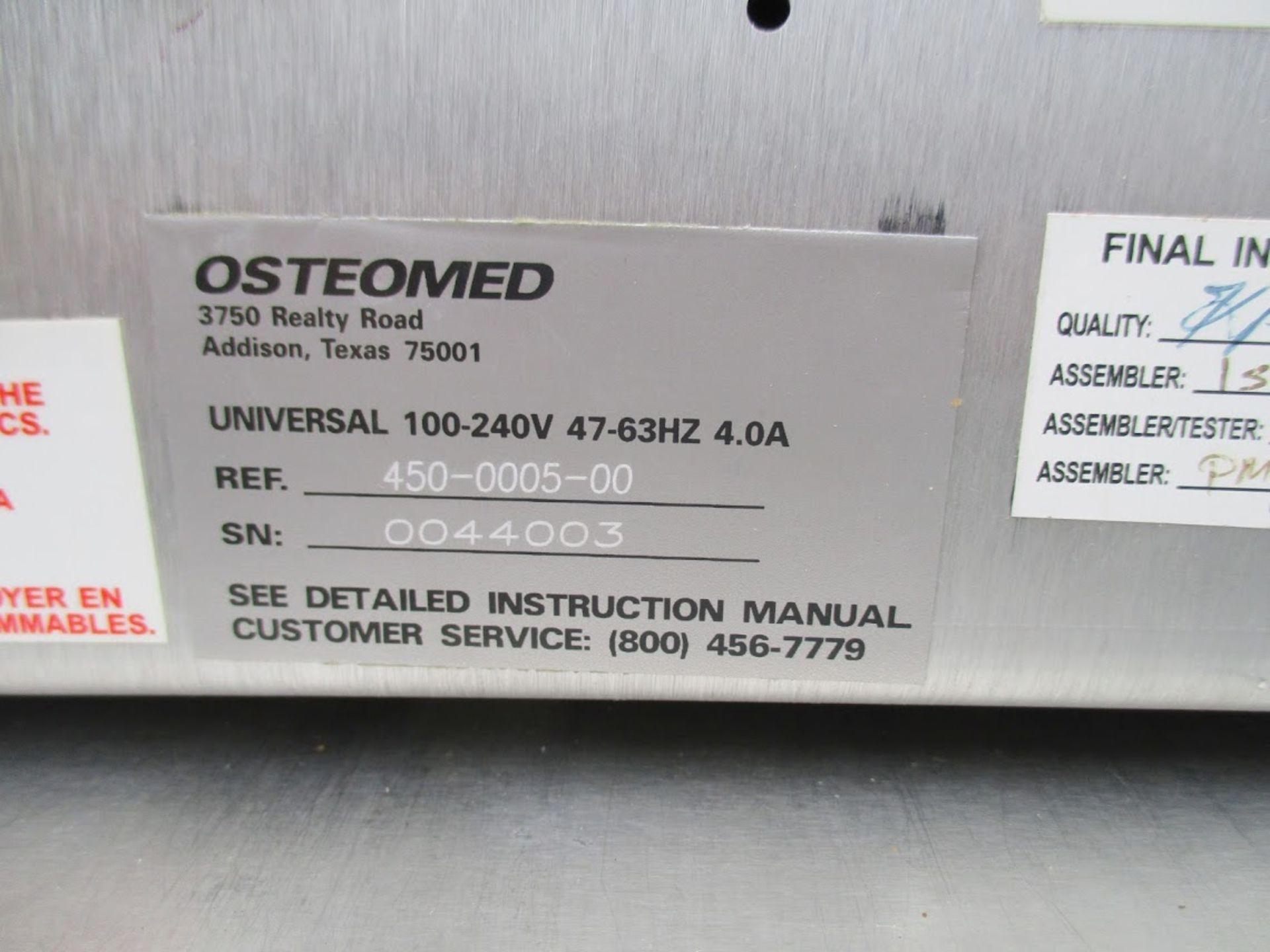 Osteomed Osteopower 2i Dental Motor model 450-0005-00 with Osteomed Modular Handpiece System. 115V - Image 2 of 4