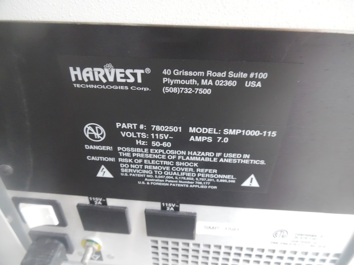Lot 32 - Harvest Smartprep Centrifuge model 7802501 with stand and rotor.