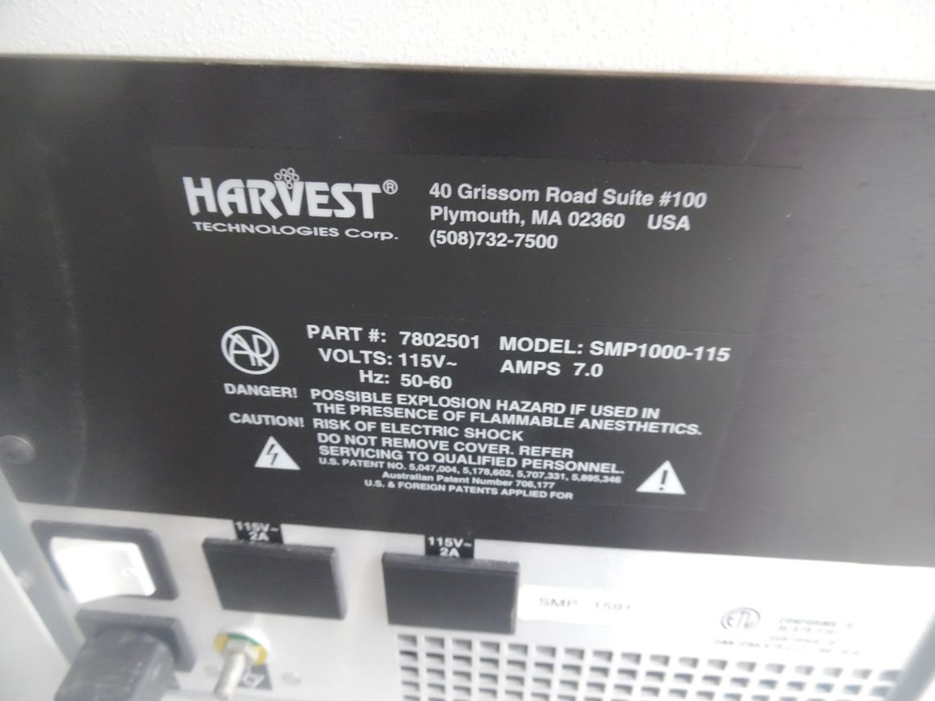 Harvest Smartprep Centrifuge model 7802501 with stand and rotor. - Image 4 of 6