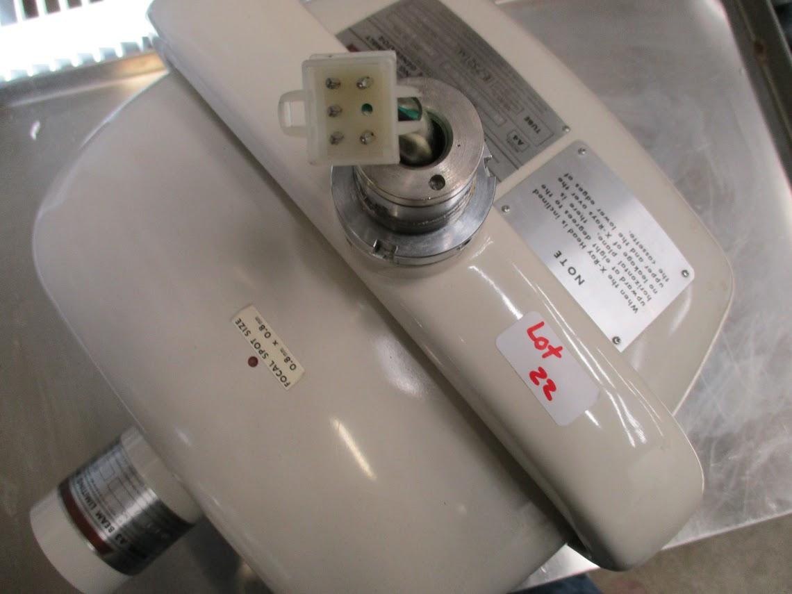 Lot 22 - Jay Morita X-Ray Head Type X-100E-SH Ritter Model A4 housing.