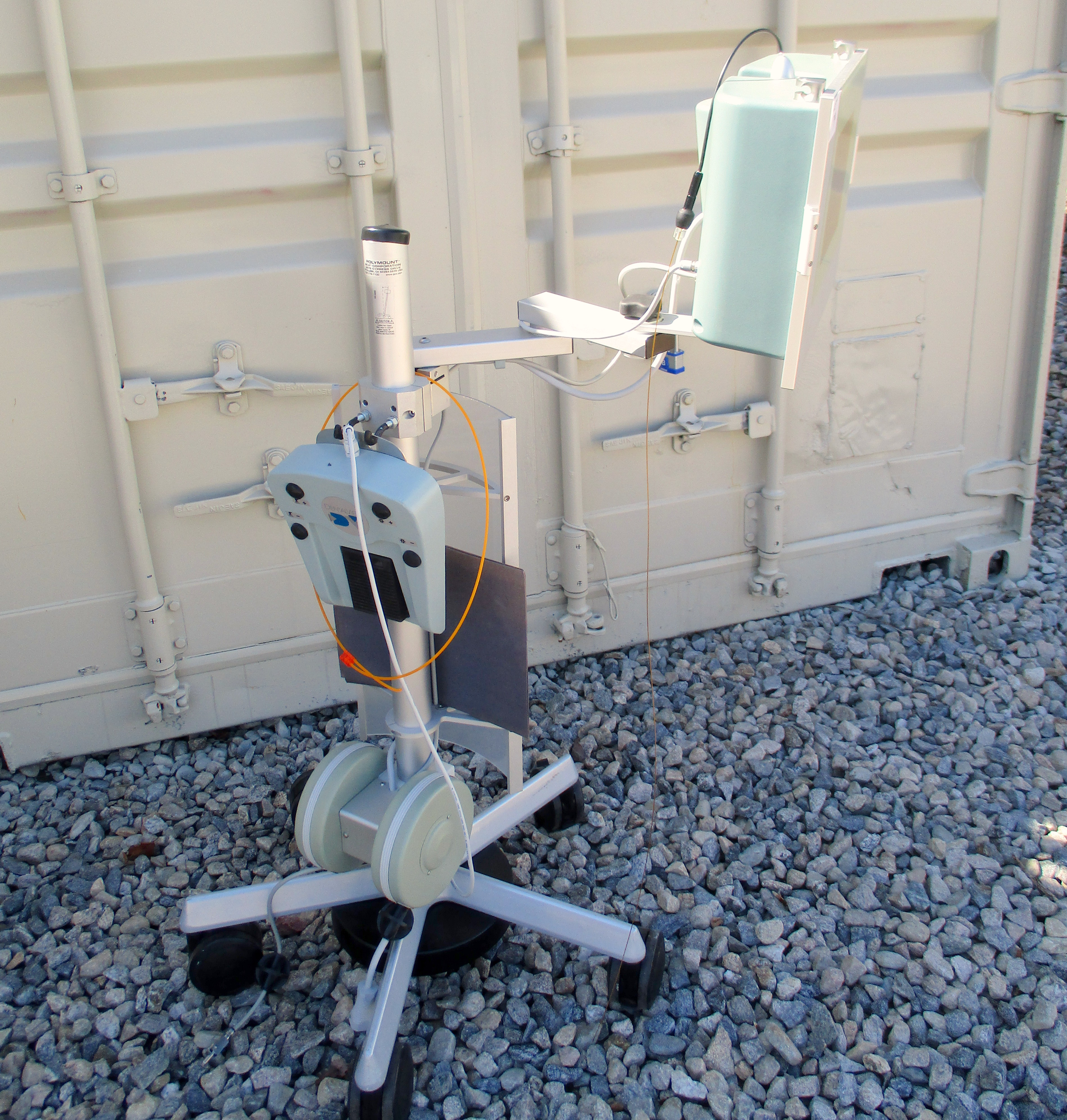 Lot 48 - Dental View DV-2 Periscopy Endoscope System on wheeled stand