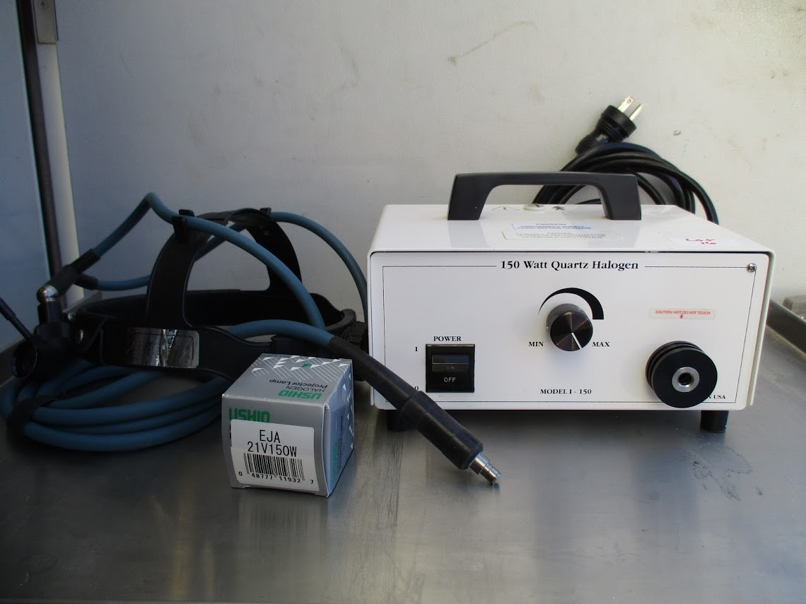Lot 16 - Cuda I-150 LightsoUrce with headgear and new bulb