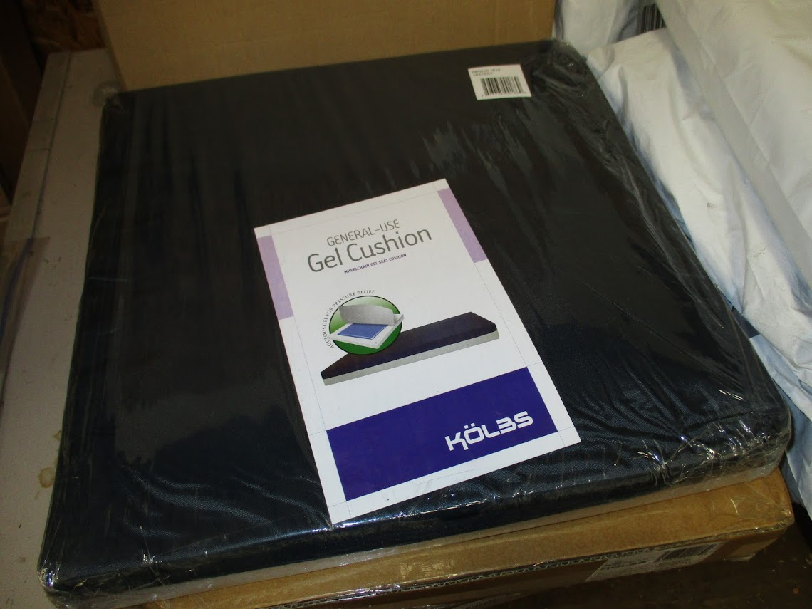 Lot 47 - Lot consisting of 9 new gel filled wheelchair pads.
