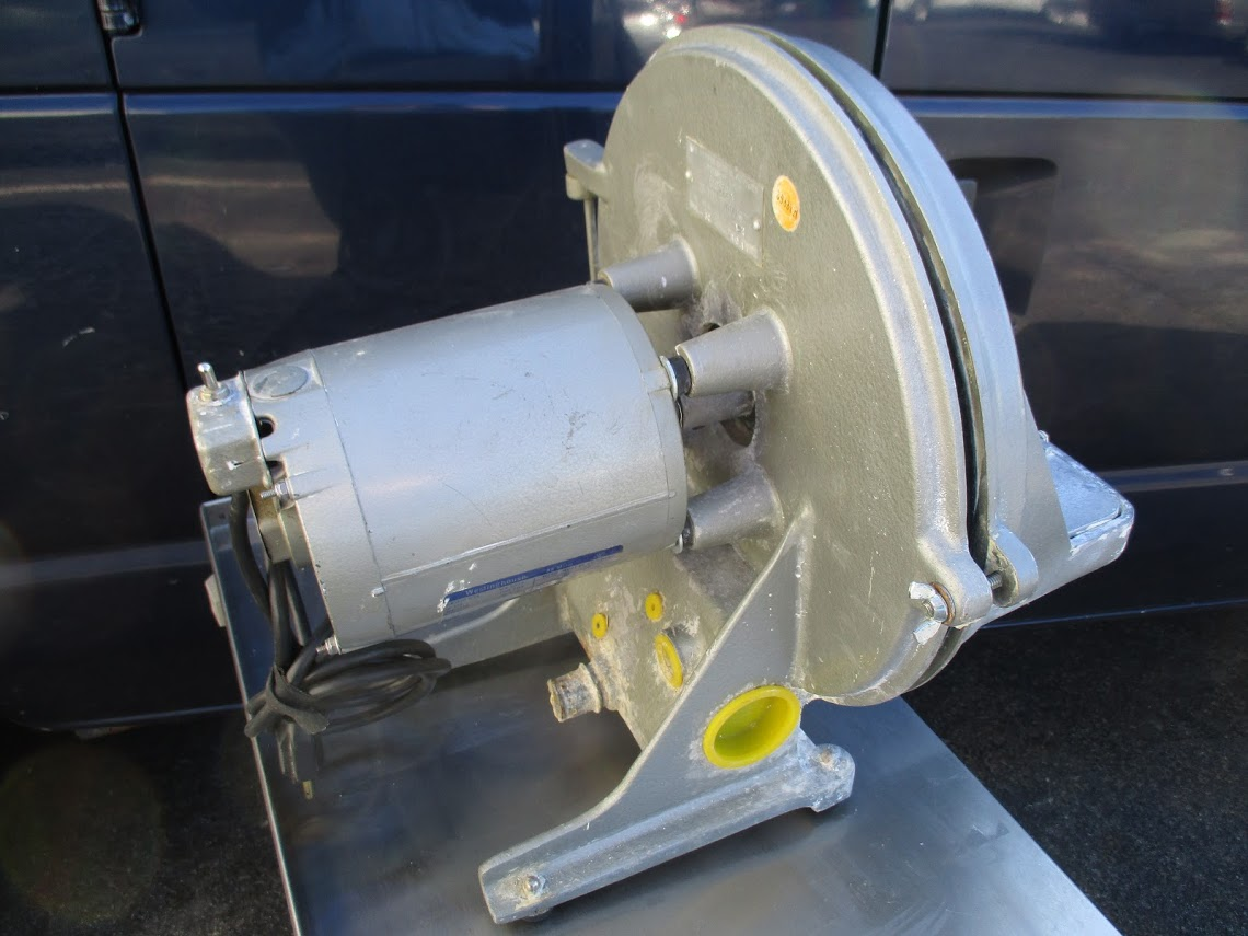 Lot 12 - Ray Foster Dental Trimmer 115V, 60 cycle 1-2 Horsepower. Power on and responds.