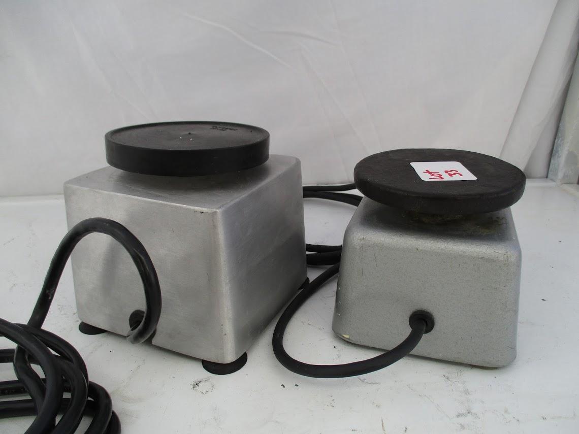 Lot 33 - Patterson Dental Vibrator 150W 120V plus Toothmaster Model 6H Plaster Vibrator 31 watts, 115V