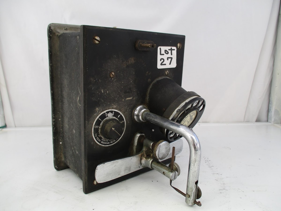 Lot 27 - Rocky Mountain Dial a Weld Dental Welder.