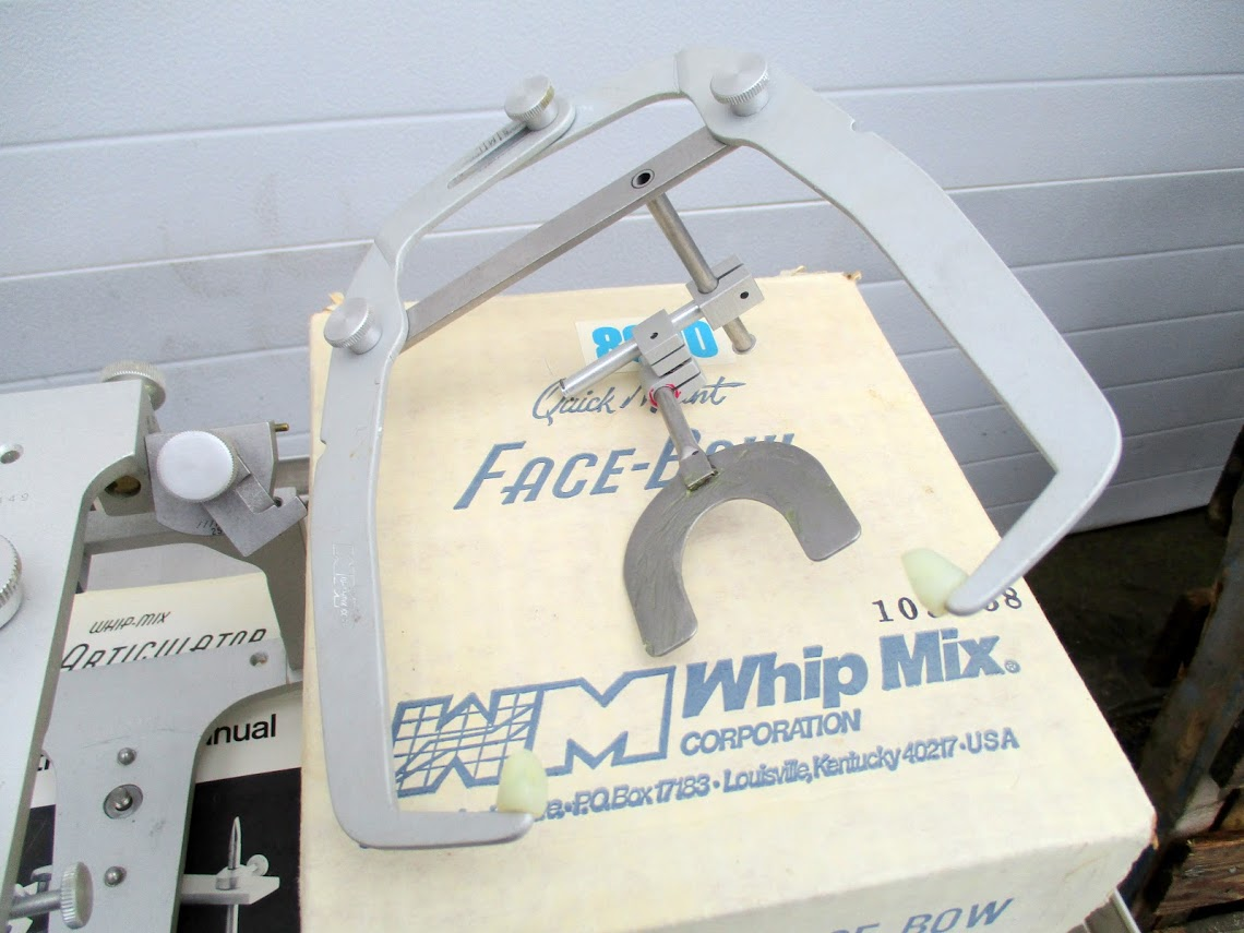 Lot 6 - Whip Mix Dental Articulator with Whip Mix Quick Mount Face Bow