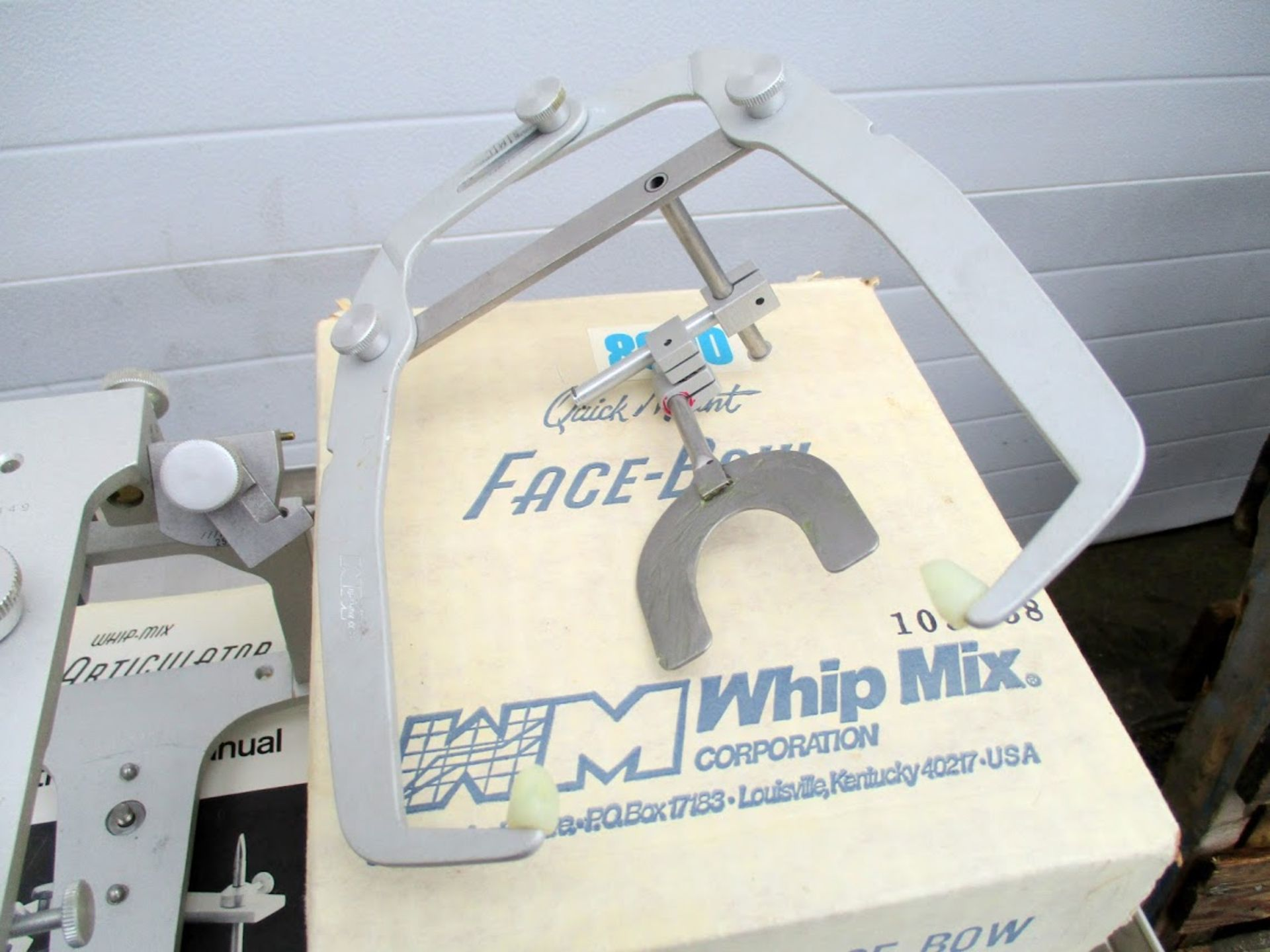 Whip Mix Dental Articulator with Whip Mix Quick Mount Face Bow - Image 2 of 3