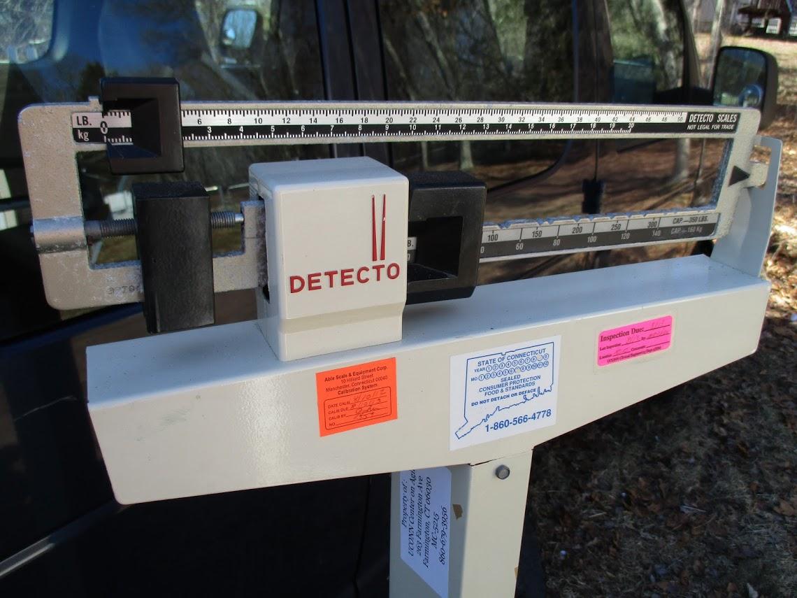 Lot 14 - Detecto Precision Medical Scale 350lb Capacity