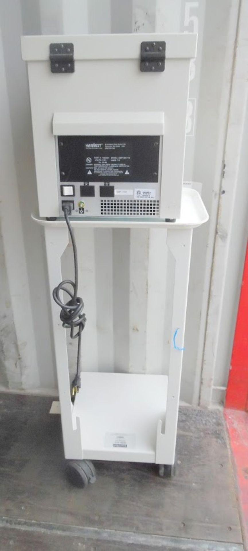 Harvest Smartprep Centrifuge model 7802501 with stand and rotor. - Image 3 of 6