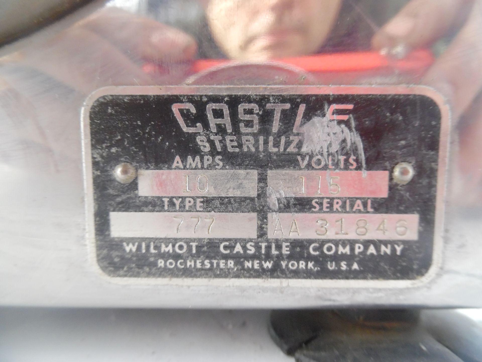 Castle Model 777 Autoclave Sterilizer.110V 10 amps. - Image 3 of 4