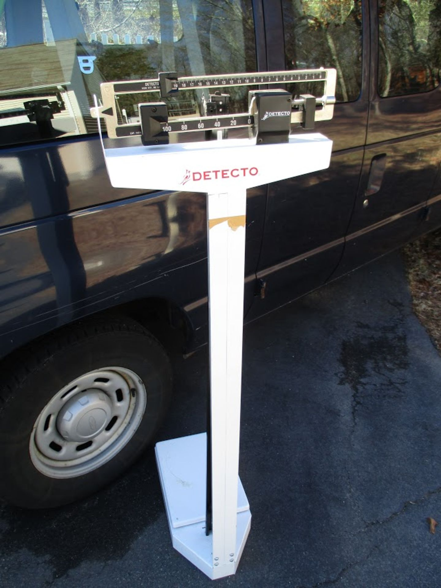 Detecto Precision Medical Scale with height measure.Capacity 140 KG - Image 3 of 3