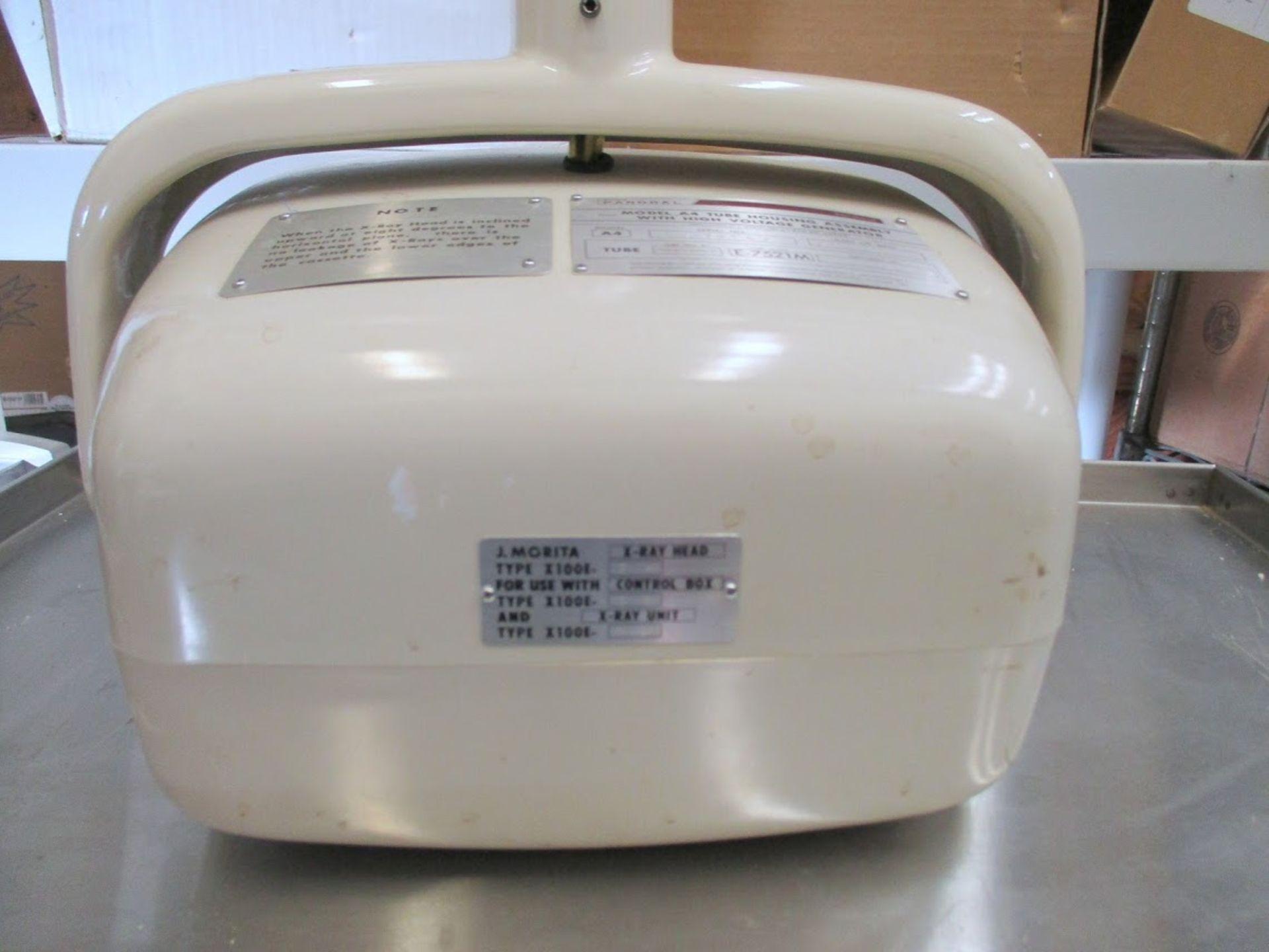 Jay Morita X-Ray Head Type X-100E-SH Ritter Model A4 housing. - Image 3 of 7